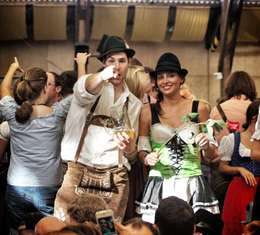 Zelt-Oktoberfest