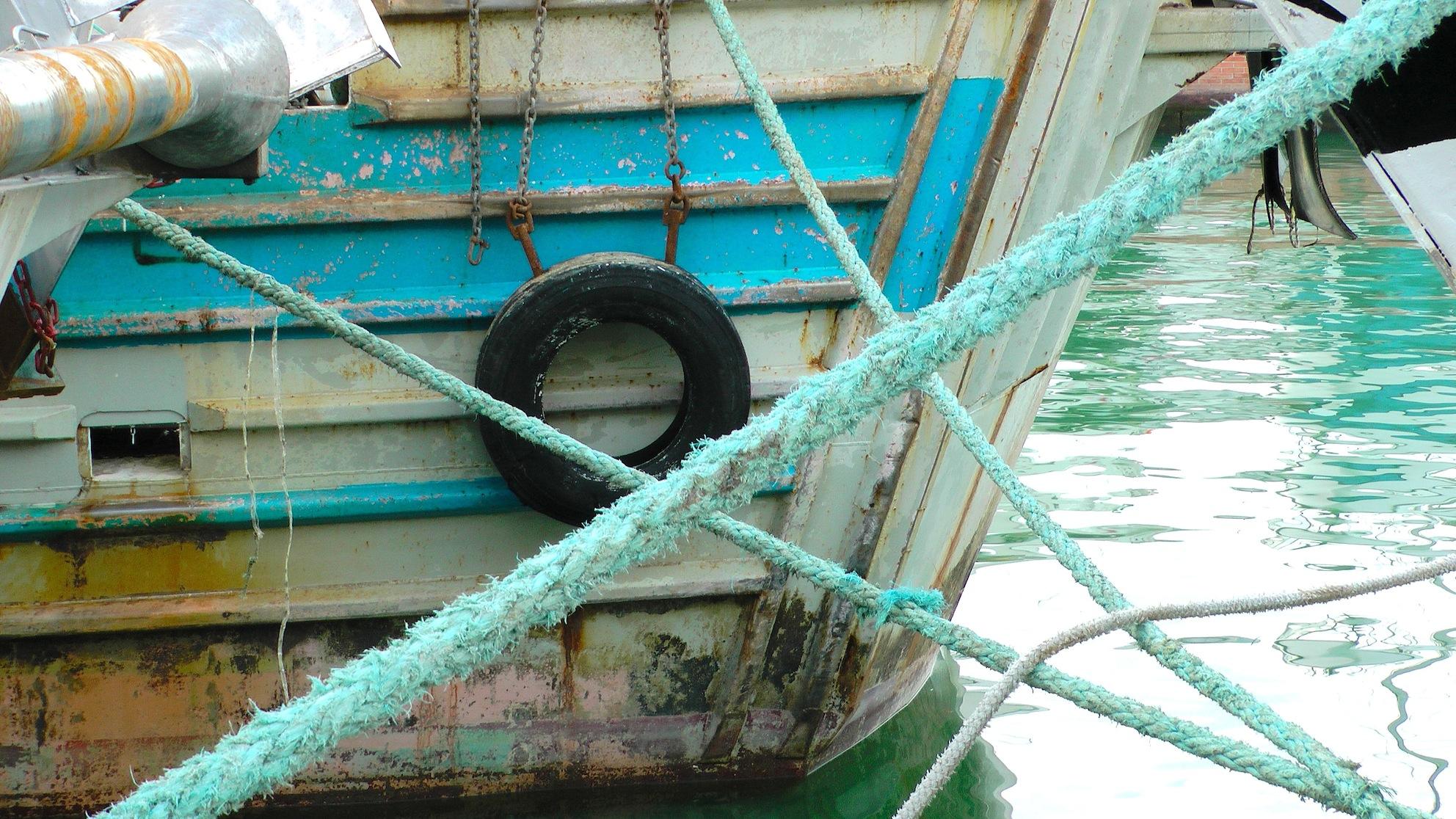 Schiff in Rimini