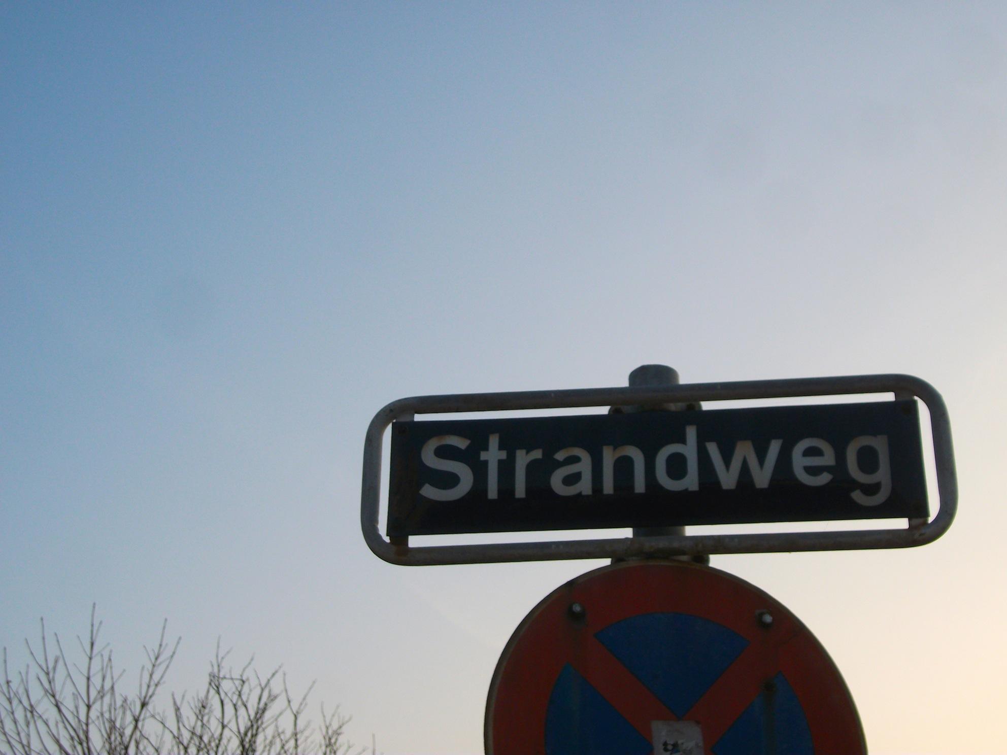 Strandweg an der Elbe