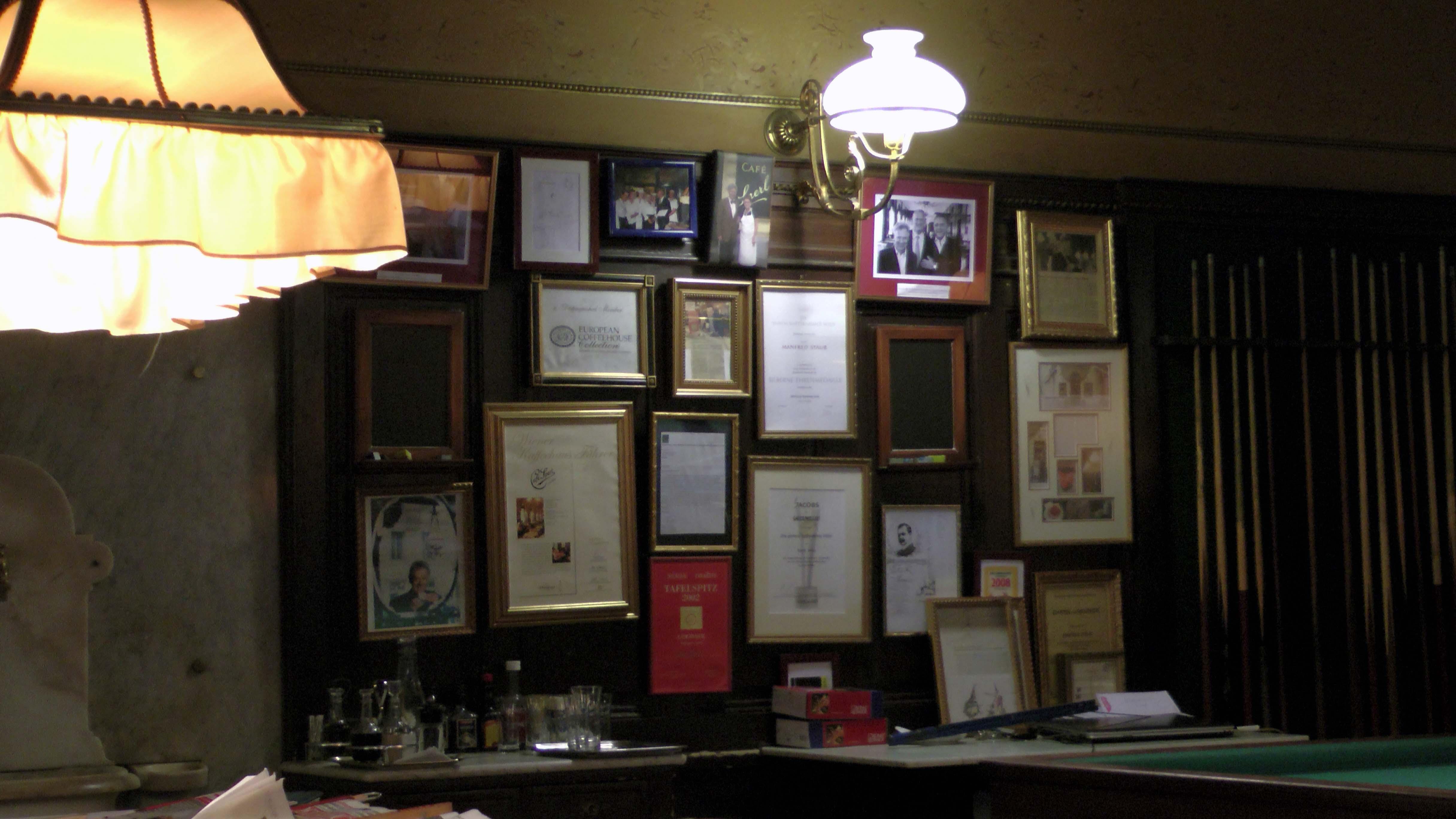 Café Sperl in Wien