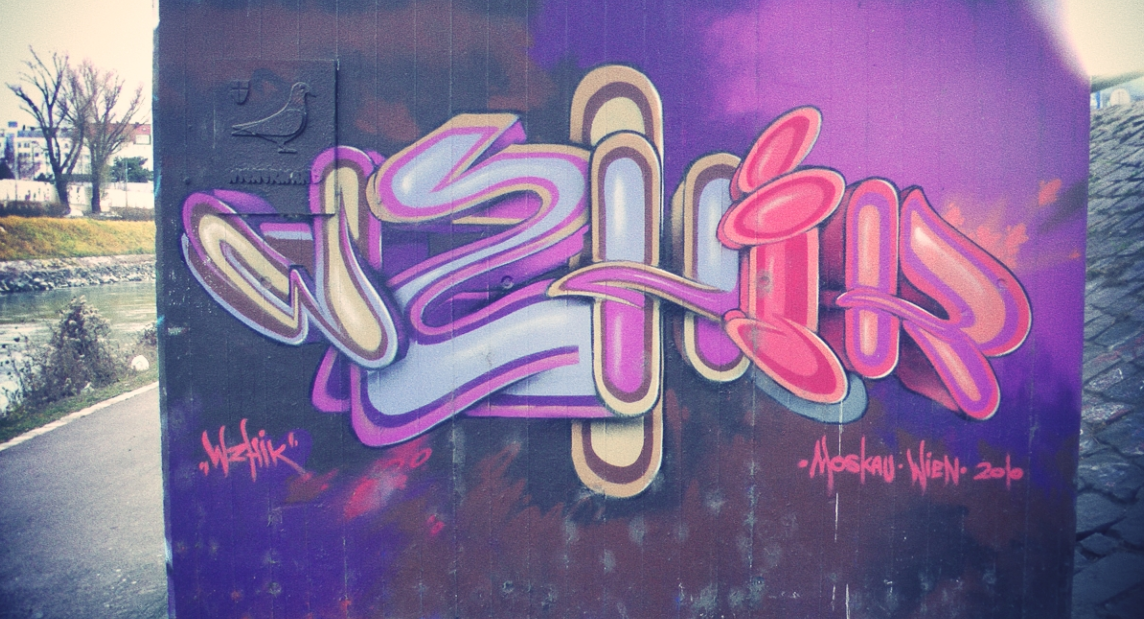 Grafitti Schrift