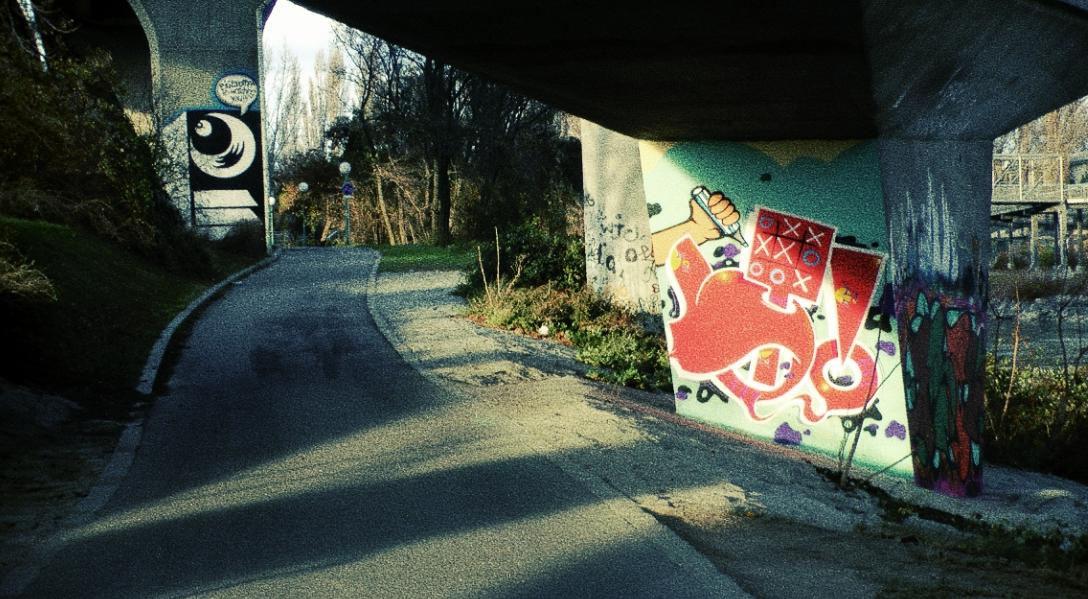 Grafitti Stadt
