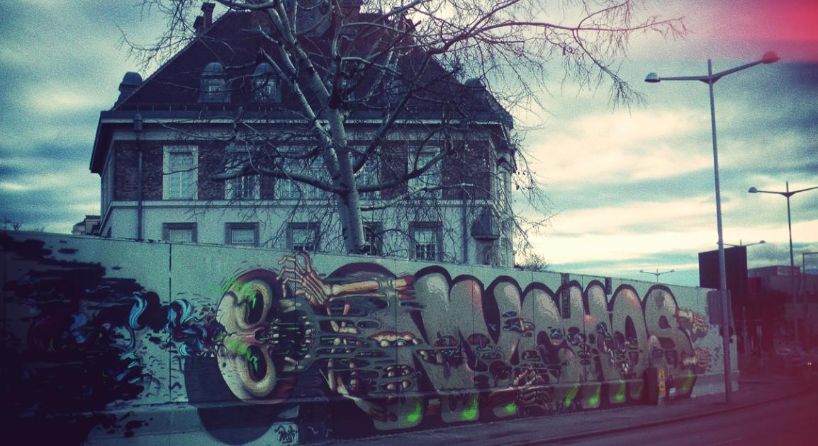 Grafitti in Wien