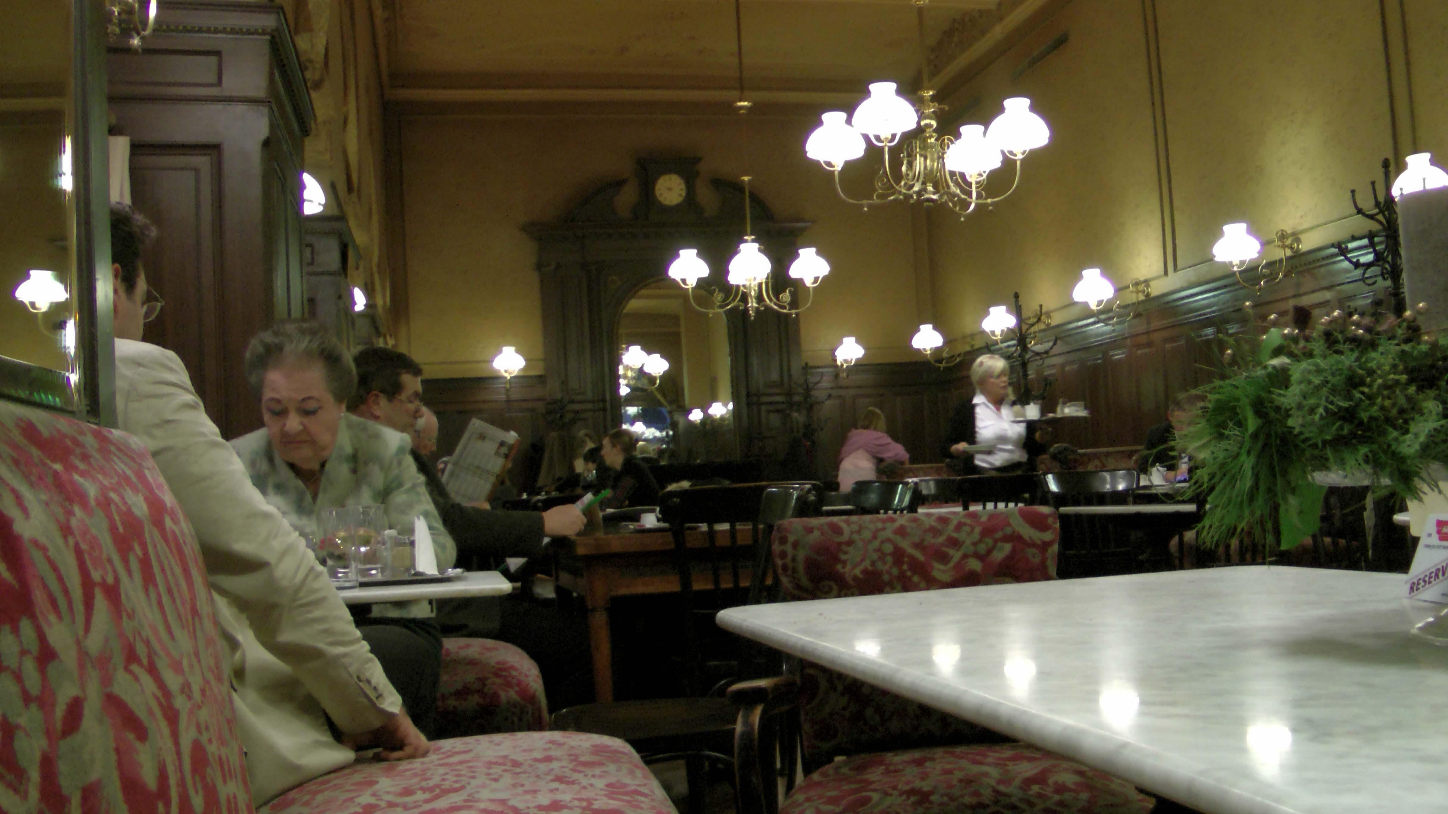Wien Kaffee trinken