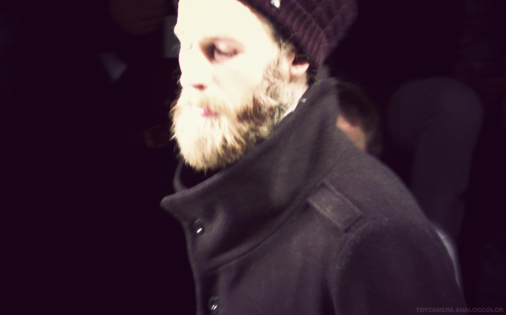 Bärtiges Model Patrick Mohr