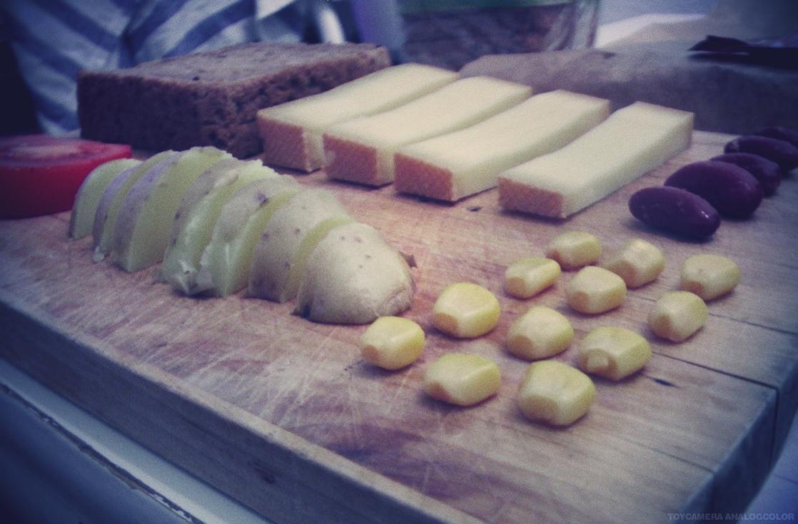 Zutaten für Toast