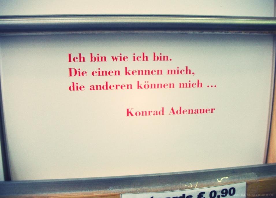 Zitat-Konrad Adenauer
