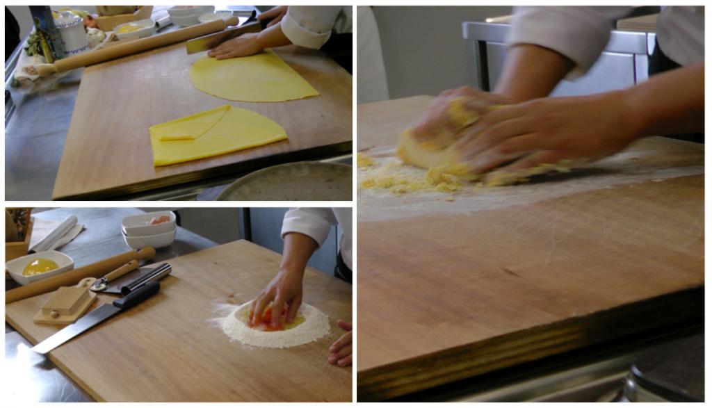 Pasta-Herstellung