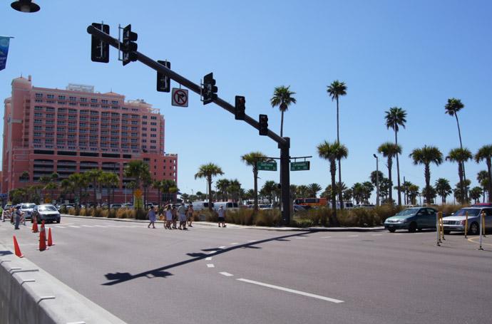 Clearwater-Beach-Straße