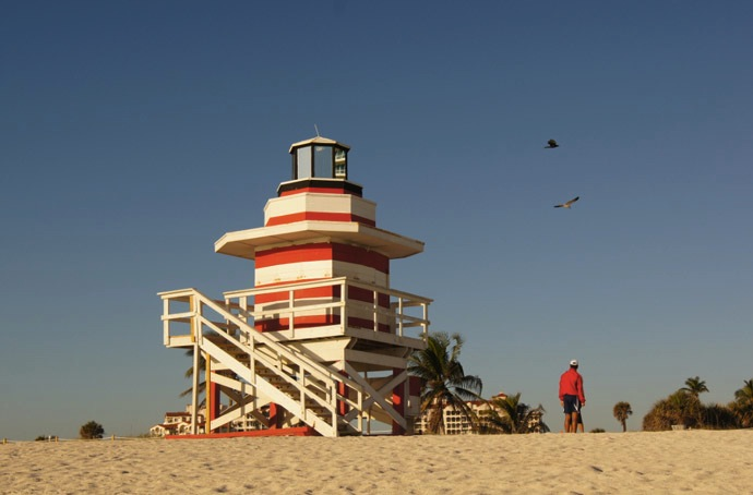 Leuchtturm-Miami-Beach