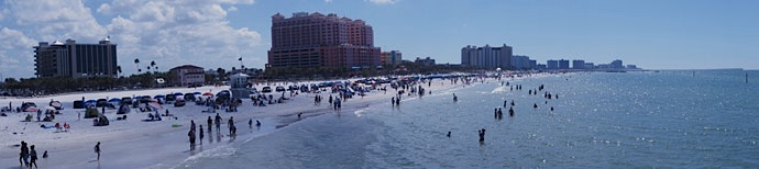Panorama-Clearwater-Beach