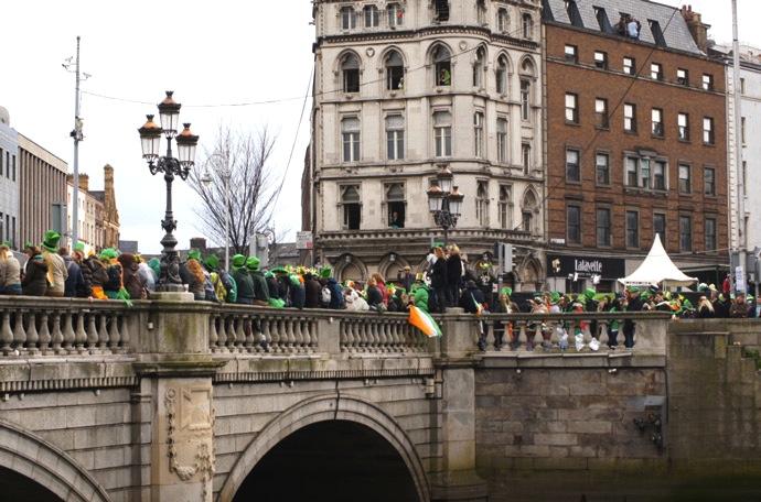 St.Patricks-Day-Brücke