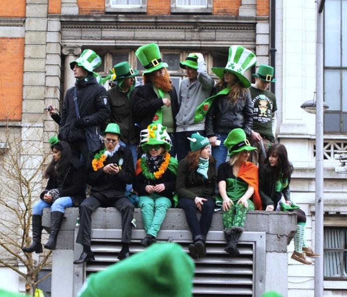 St.Patricks-Day-Kostüm
