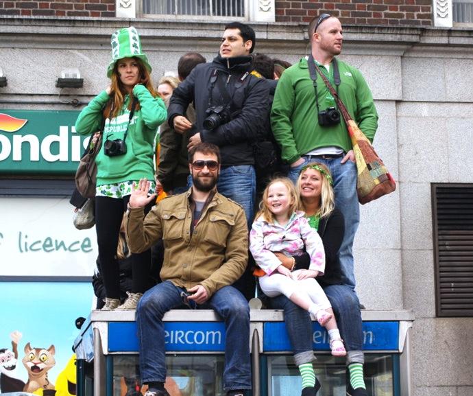 St.Patricks-Day-Menschen