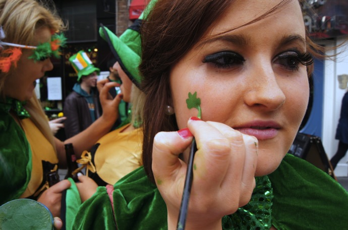 St.Patricks-Day-Schminke