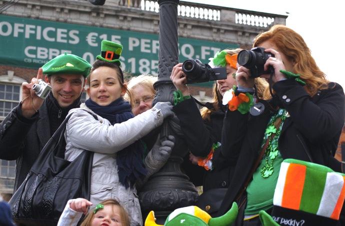 St.Patricks-Day-Straßen