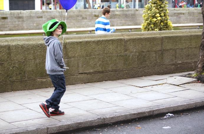 St.Patricksday-Junge