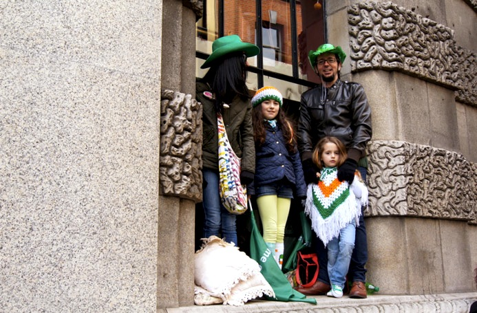 St.Patricksday-Outfit-Familie