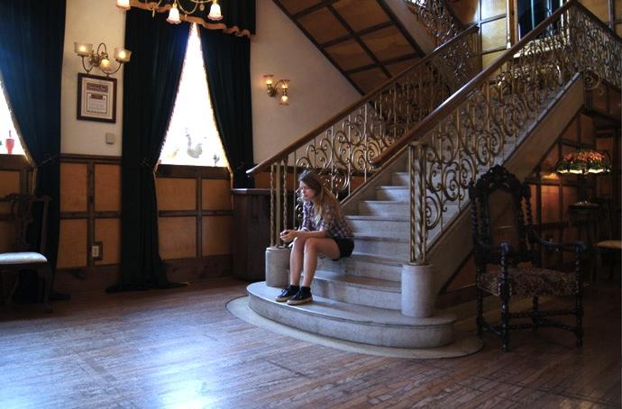 Treppenaufgang-Hotel