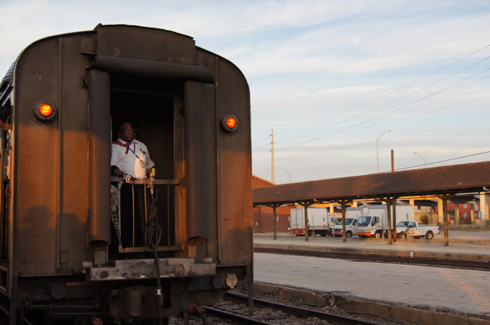Zug-Amerika-Amtrak