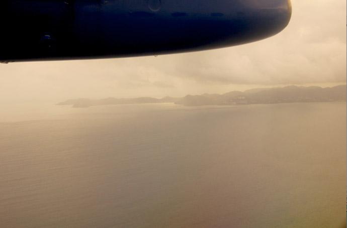 Flugzeug-Aussicht