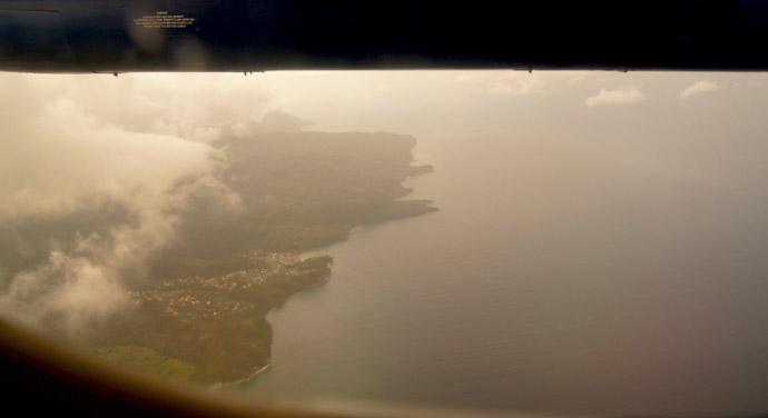Karibik-von-oben