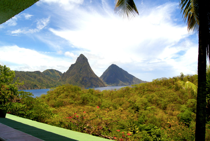 Pitons-St-Lucia