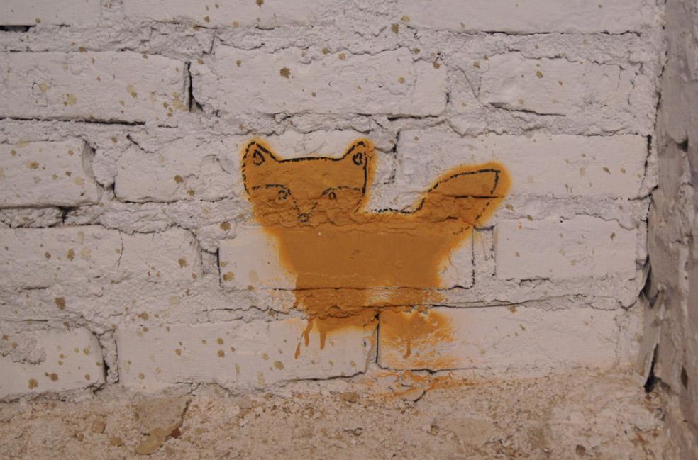 Katze-Mauer
