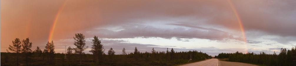 Rainbow-midnight-sun-finland