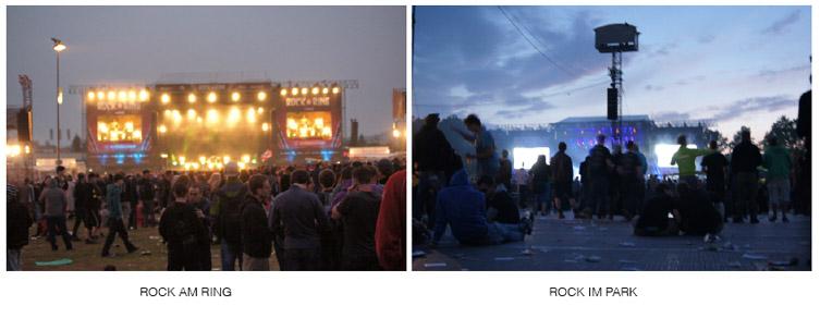 Rock-am-Ring-Bühnen