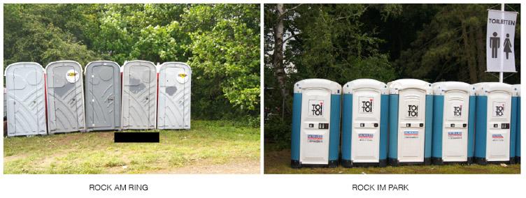 Rock-im Park-Toiletten