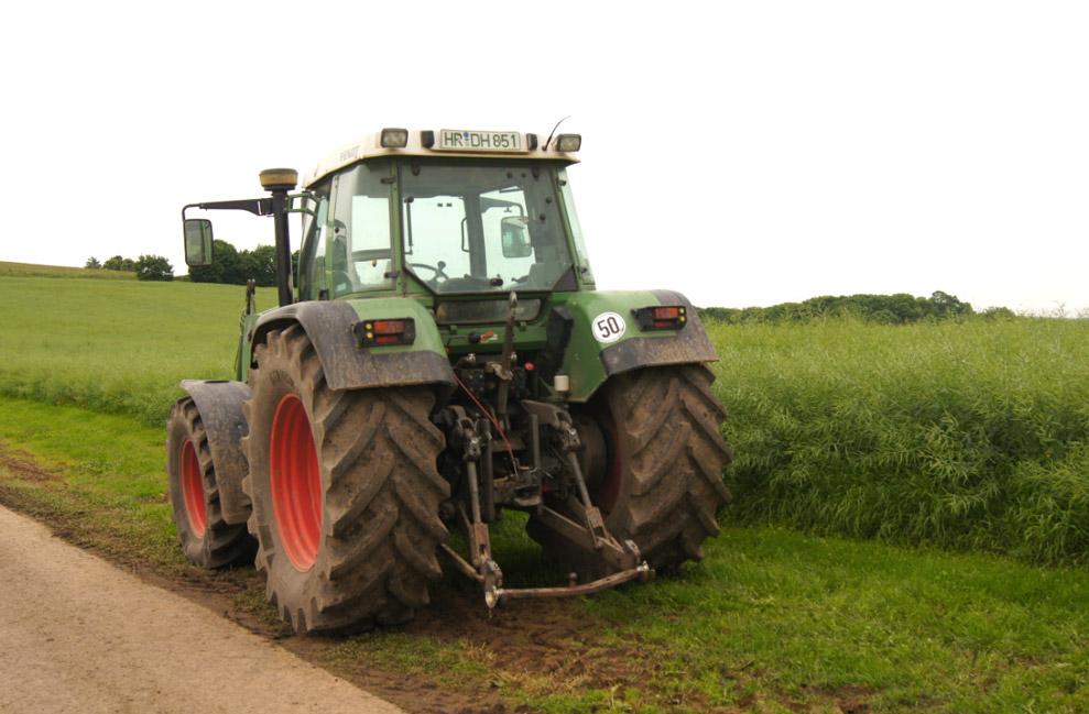 Traktor-Feld