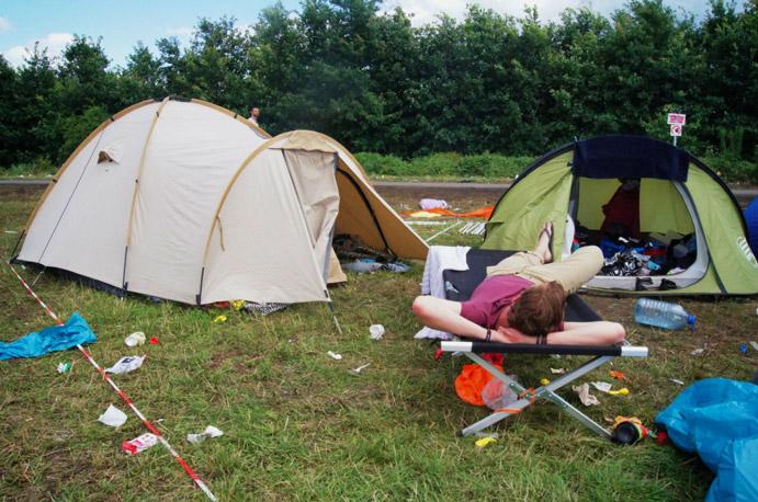 Melt-Campingplatz