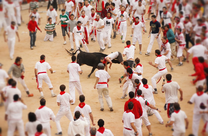Running-of-the-bull-2012
