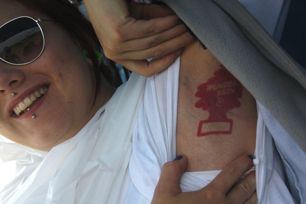 Wunderbaum-Tattoo