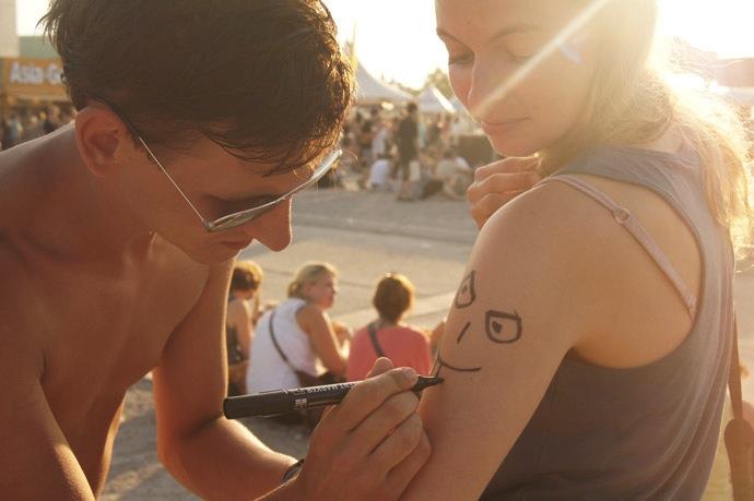 Edding-Tattoo-Christine-Neder
