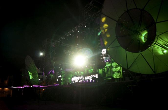 Kazantip-Bühne