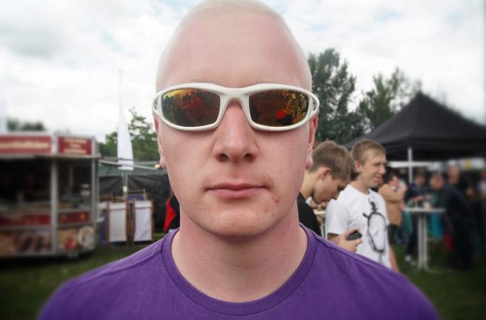 Raver-Sonnenbrille