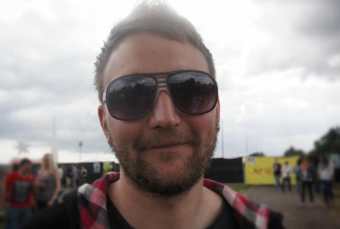 Sonnenbrille-Mann