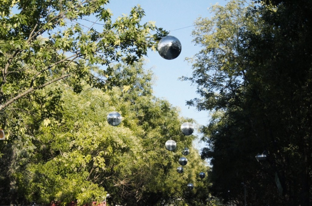 Sziget Diskokugel-wald