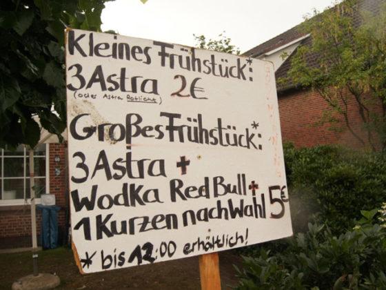 Wacken-Frühstück