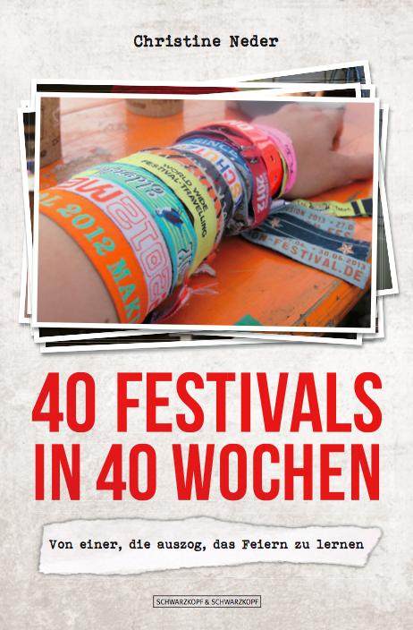 Buch 40 Festivals