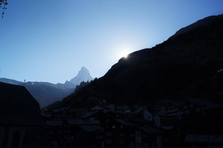 Matterhorn-Sonnenuntergang