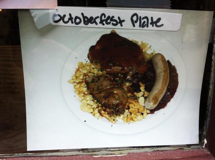 Oktoberfest-plate