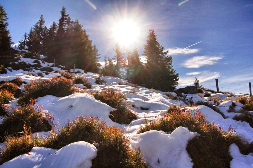 Schnee-in-den-Bergen