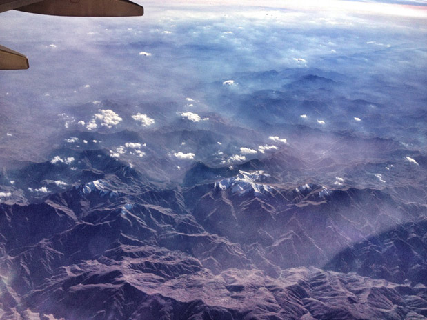Flug-über-Kaukasus