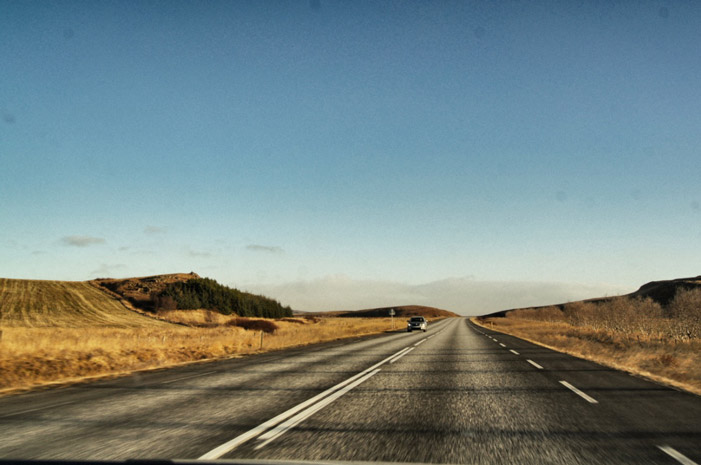 Island-Straßen
