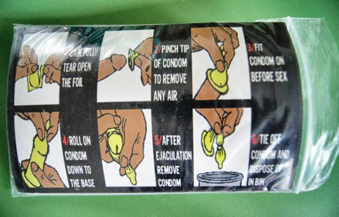Kondomanleitung