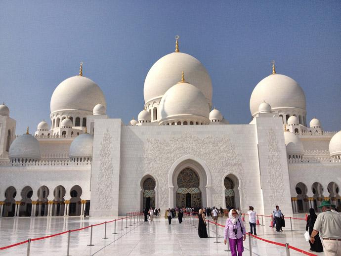 Neuseeland Moschee Video Photo: Unterwegs In Dubai: Tagesausflug Nach Abu Dhabi