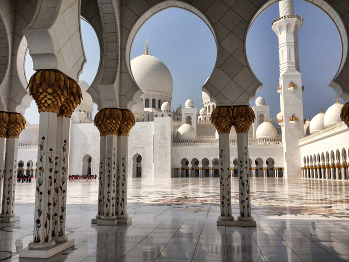 Moschee-in-Abu-Dhabi